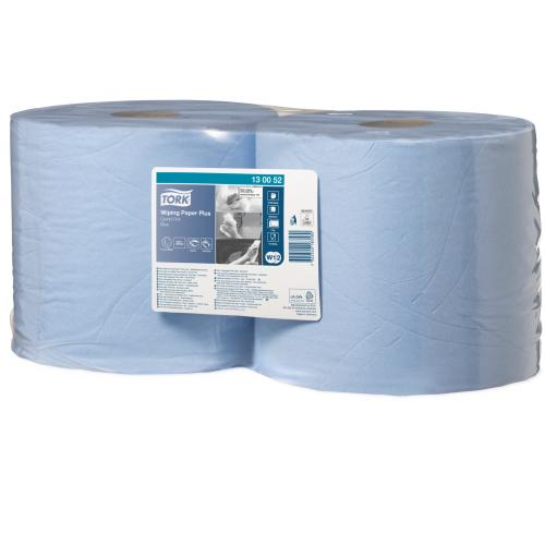 TORK Plus premium vetopyyhe sininen 2rll/säkki