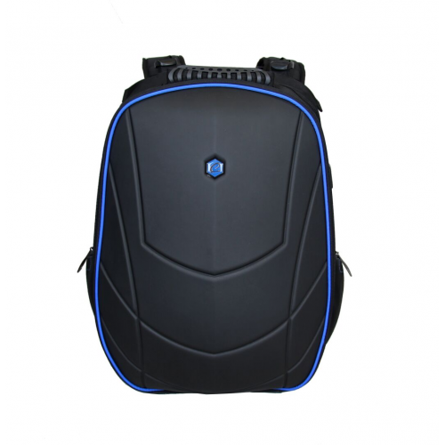 Pelaajan reppu Gaming Assailant 17-tuum. USB musta/sininen