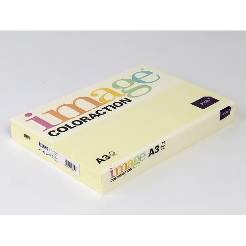 IMAGE Coloraction kopiopaperi keltainen A3/55 80g