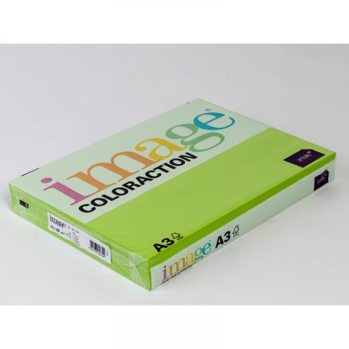 IMAGE Coloraction kopiopaperi limenvihreä A3/66 80g