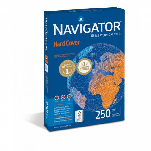 NAVIGATOR Hard Cover A4 250g kopiopaperi