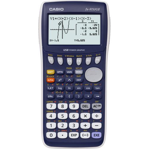 CASIO FX-9750GII ohjelmoitava grafiikkalaskin