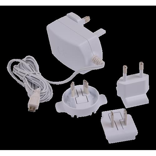 Raspberry Pi Power Supply, virallinen verkkoadapteri Raspberry Pi 3 Model B:en, 5,1V 2,5A, valkoinen
