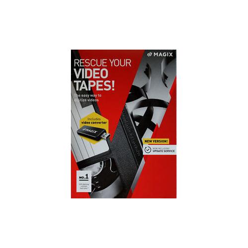 Magix Rescue your Videotapes - videokaappari USB-liitäntään