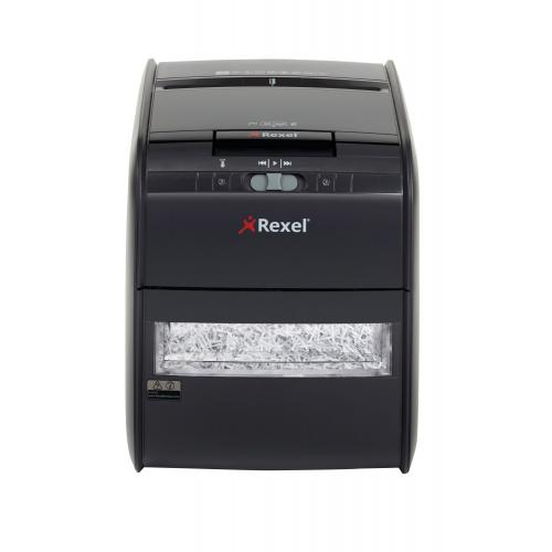 Rexel Auto+ 60 paperintuhooja 4x45mm suikale, 5 arkkia manuaalisyötöllä automaatilla 60 arkkia