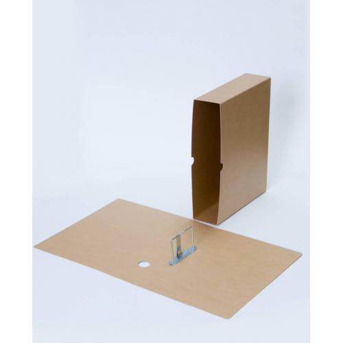 Arkistokansio A4/7cm piikkimekanismi+kotelo (25kpl/ltk)