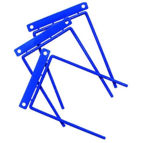 F-Binder arkistohaarukka 8cm sininen tai punainen 4050422 (100kpl/ras)
