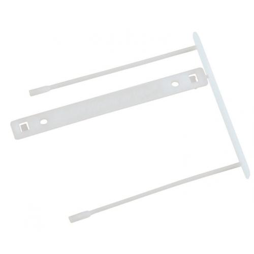 HSK Clip arkistohaarukka valkoinen