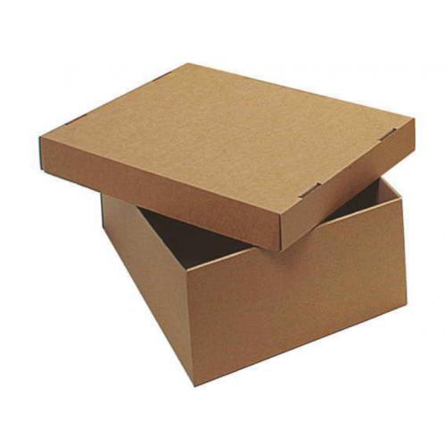 Konttoripaperilaatikko + kansi miniaaltopahvi 305x215x110mm 20200 (50kpl/ltk)