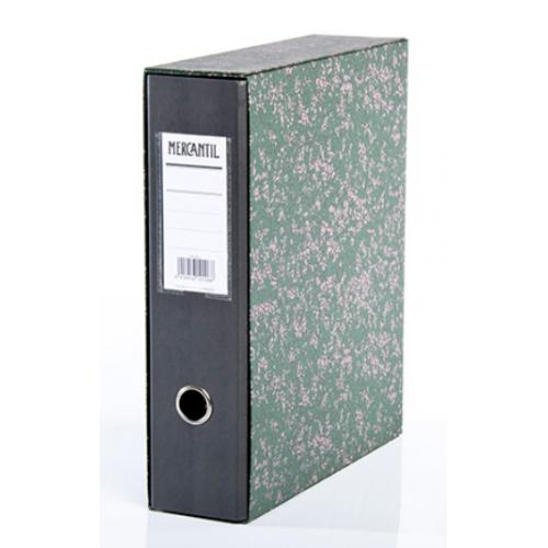 MERCANTIL kotelomappi A4/8cm musta (20)