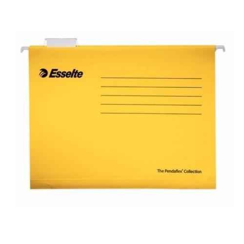 ESSELTE Pendaflex Standard A4 keltainen riippukansio