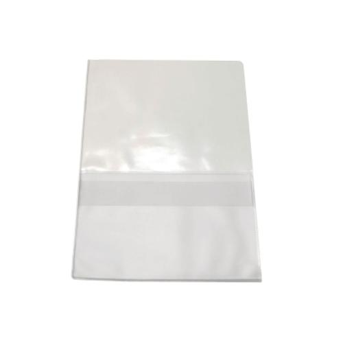 Huoltotasku A4 kirkas tasku+läppätasku PVC