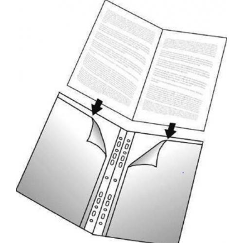 Luettelotasku 2xA4 yleisrei´itys (tuplatasku) (24211 16130)