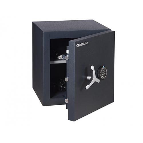 Chubbsafes DuoGuard 110 E palo- ja murtoturvakaappi, elektroninen lukolla, 110 litraa