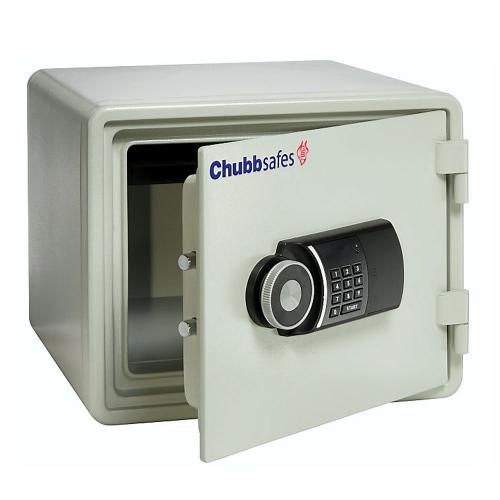 Chubbsafes Fire 25 E palo- ja murtoturvakaappi, 30P/S2, elektronisella lukolla, 26 litraa