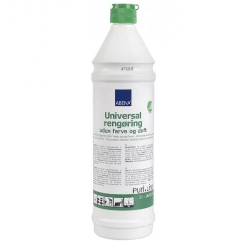 ABENA Puri-Line yleispuhdistusaine, 1L hajusteeton 1kpl