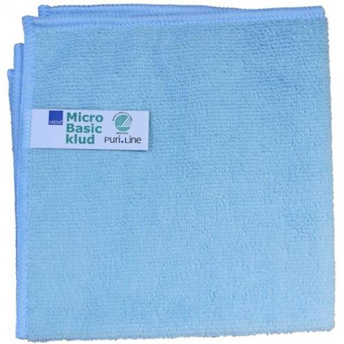 ABENA Puri-Line Basic mikrokuituliina 32x32cm sininen 10kpl