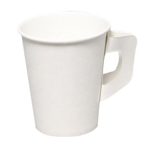 GASTRO-LINE kahvikuppi 18cl korvallinen valkoinen 50kpl/pss