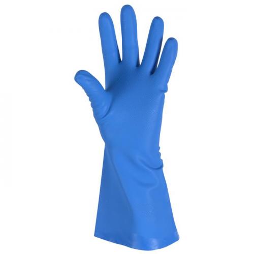 DPL Interface nitriilitalouskäs M/833cm anatom vuoreton sininen 1pr