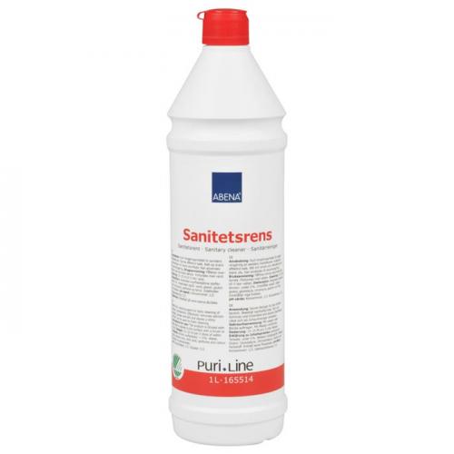 ABENA Puri-Line saniteettipuhdistus, hapan hajustettu 1L 1kpl