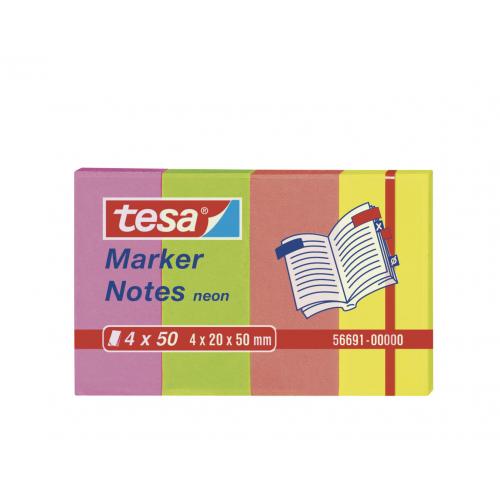 Merkkilappu Tesa Neon 4X50 20x50 värilaj