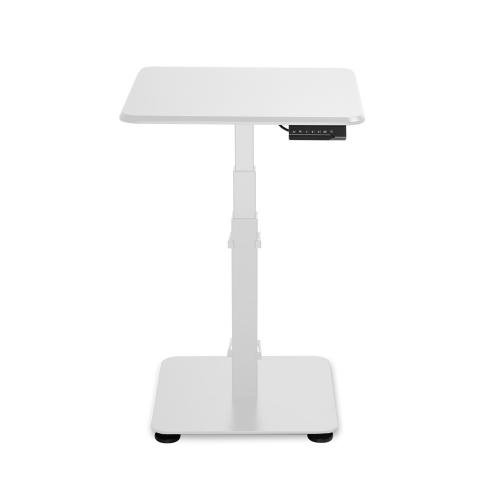 GetUpDesk Single sähköpöytä valkoinen
