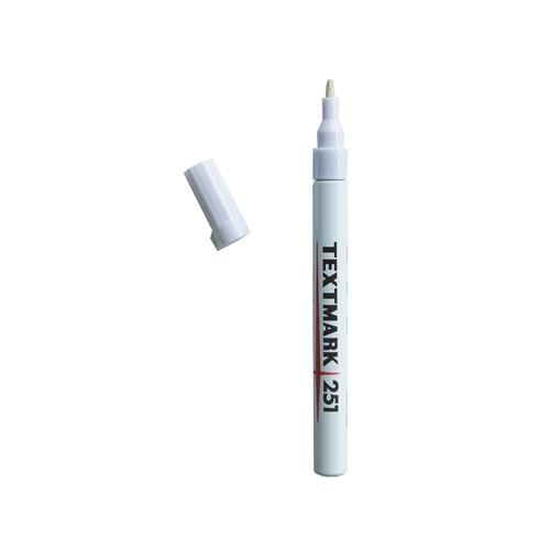 TEXTMARK 251 maalikynä valkoinen