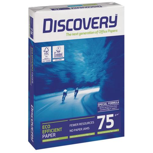 Discovery A4 75g kopiopaperi CIE 161, (5 rs/ltk, 240 rs/lava)