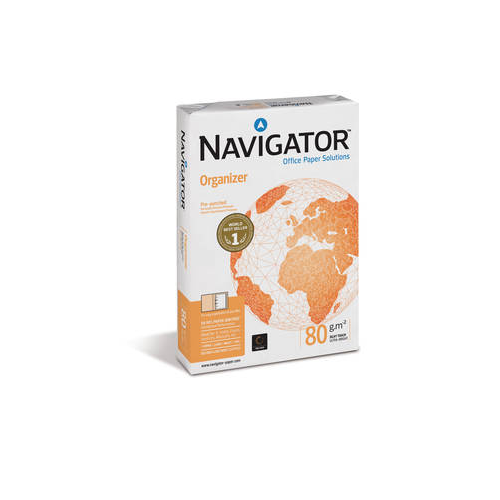 NAVIGATOR Organizer A4 80g kopiopaperi 8-8 reiät
