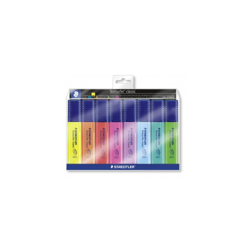 STAEDTLER Textsurfer korostuskynä 8-värin sarja