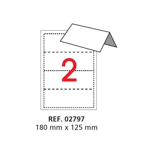 Apli Pöytäkortti 2797 180x125