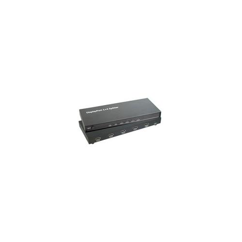 MicroConnect 4-Port DisplayPort splitter
