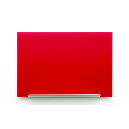 NOBO Diamond Standard lasitaulu 677x381mm punainen