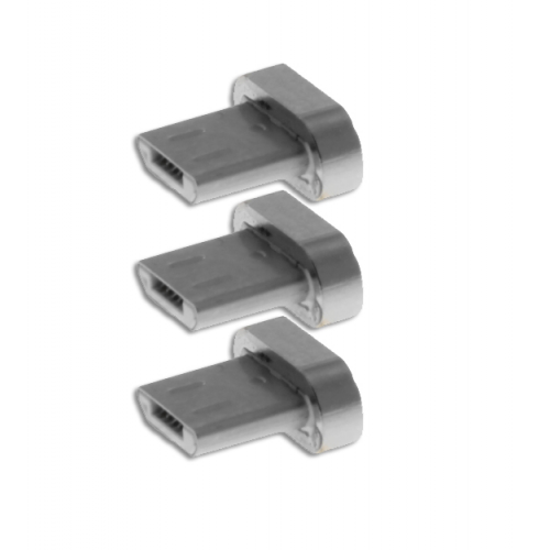 INSMAT Exclusive Magnetic Micro-USB Head 3 pcs