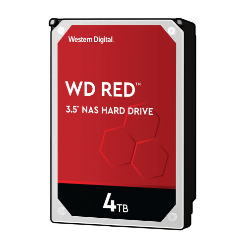 WD Red 4TB SATA 6Gb s 256MB Cache Internal 8.9cm 3.5Inch 24x7 IntelliPower optimized for SOHO NAS sy