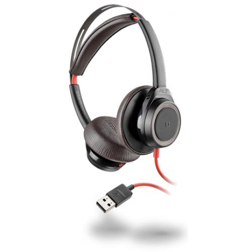 PLANTRONICS Blackwire 7225 - Kuuloke + mikrofoni - korvien päällä - langallinen - aktiivinen melunpo