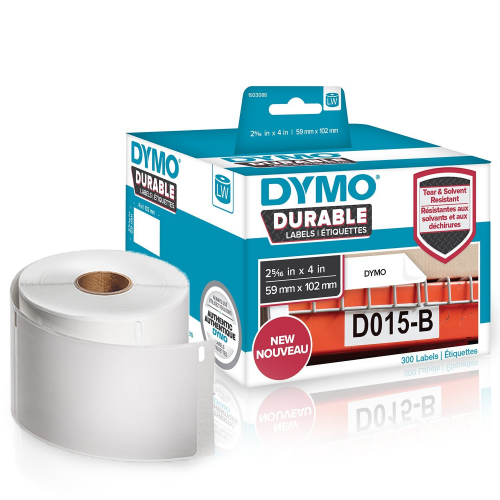 Dymo LabelWriter Durable rahtitarra 59mm x 102mm