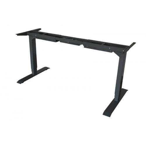 TC Easy Duo sähkösäätöinen pöydänrunko musta, kahdella jalalla