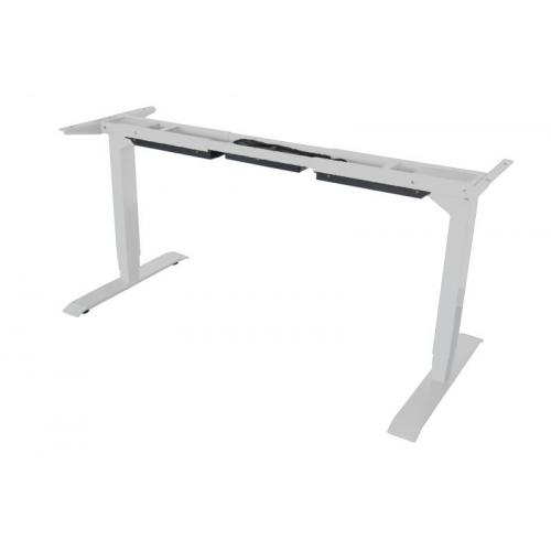 TC Easy Duo sähkösäätöinen pöydänrunko valkoinen, kahdella jalalla