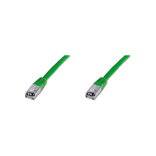 Digitus DK-1641-015/G Patch Cable SSTP/PIMF CAT6 Green 1.5m