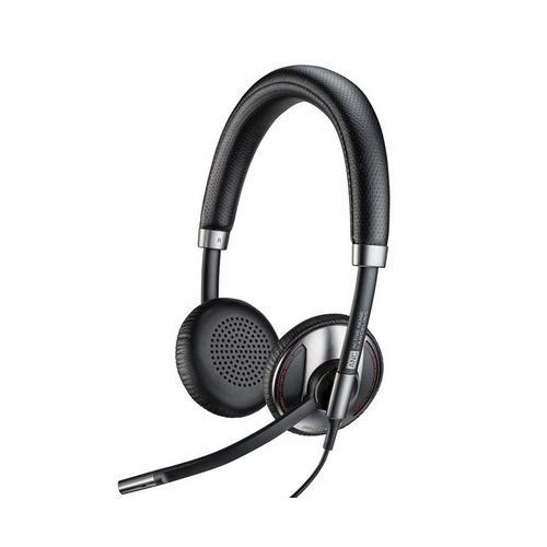 Plantronics Blackwire C725 MS - 700 Series - kuuloke + mikrofoni - korvien päällä - langallinen - ak