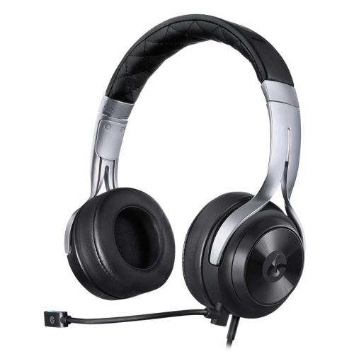 LUCID SOUND LS20 Black/Silver -headset (3,5mm jack)