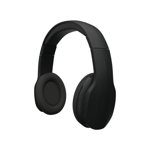 Qnect Headphones Q04-kuulokkeet, langattomat Bluetooth, musta