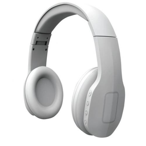 Qnect Headphones Q04-kuulokkeet, langattomat Bluetooth, valkoinen