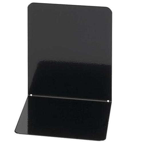 Wedo kirjatuki 14cm musta metallinen 2kpl/pkt