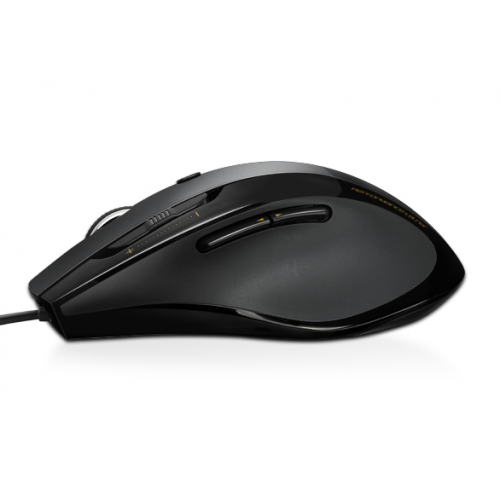 Rapoo N6200 Wired Optical Mouse Full size Ergo, 4D Scroll