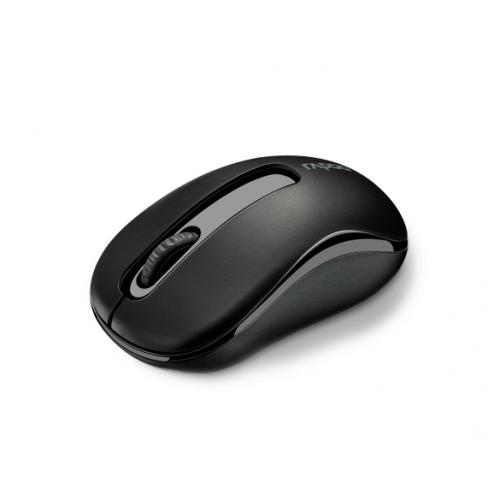 Rapoo M10Plus, 2,4 GHz, langaton hiiri, 3 painiketta, musta