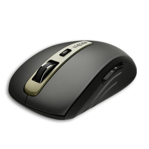Rapoo MT350 langaton BT 2.4 Ghz Monitilainen hiiri, musta
