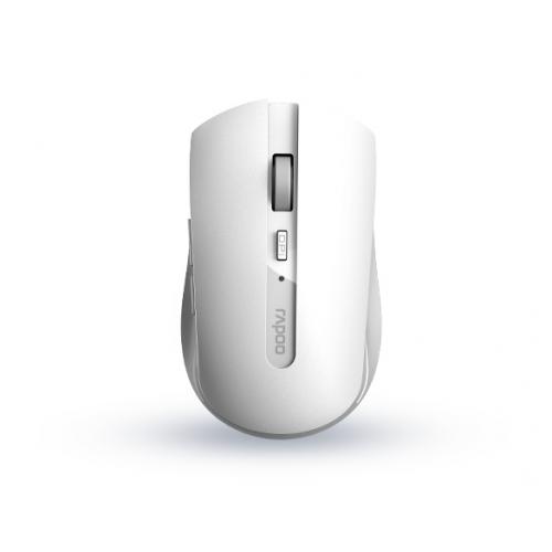 Rapoo 7200M Design langaton monitilahiiri (Dongle BT) - valkoinen