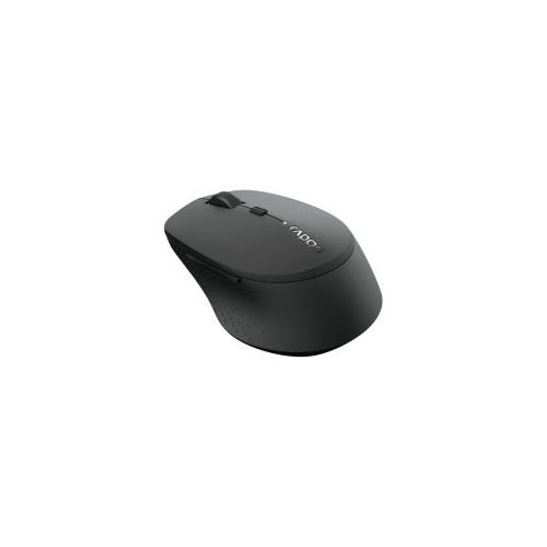 Rapoo M300 langaton monitilainen hiljainen hiiri - musta